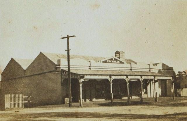 Thomson and Comrie's Exchange Store, c1919.