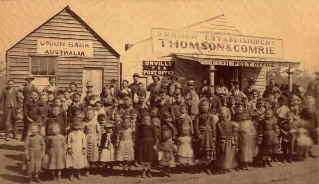 Orville - Thomson & Comrie Store & Union Bank 1876