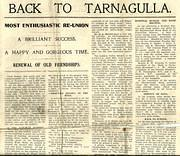 Back to Tarnagulla 1931 - Page One