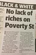 Poverty - from 2018 October 30 issue of The Herald Sun